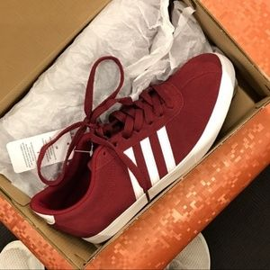 adidas Shoes - Neo courtset adidas maroon sneakers